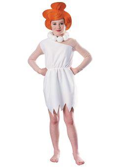 cartoon costumes | ... Cartoon Girls Costume - Girls Flintstones Halloween Costumes