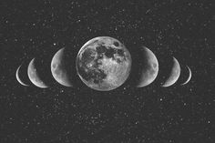 Another moon that would work nicely as a tattoo.