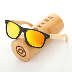 9ffc4cf1a5 BARCUR 2017 New Handmade Bamboo wooden Polarized Sunglass Retro Men Women  Beach Sun glasses gift choice