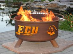 This fire Pit would be awesome for tailgating towards the end of the season when it is cold out.