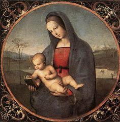 Raphael Raffaello Sanzio da Urbino (1483–1520) Madonna with the Book