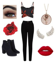 """""""party look"""" by yasminepedraza on Polyvore featuring EAST, Monsoon and Luna Skye"""