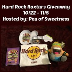 Hard Rock Cafe Giveaway (ends 11/5) USA -gt:  Hard Rock Cafe Giveaway Sponsored by Hard Rock International Hosted by Pea of Sweetness Co-Hosted by Deals of Sweetness   Hard Rock International... ~  http://www.singlemommies.net/2014/10/hard-rock-cafe-giveaway-ends-115-usa-gt/