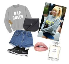 """""""MOMO"""" by gabs-12 on Polyvore featuring Kate Spade, NIKE and Chanel"""