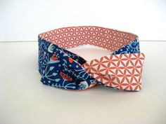 Headband Twist on Headband Reversible Designs by SoTwistedUp