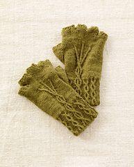 Ravelry: Fingerless Gloves #L0704 pattern by Lion Brand Yarn