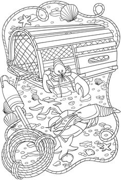 20 Free Printable Gardening Adult Coloring Pages