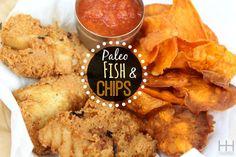 Paleo fish and chips (Gluten-free & Grain-free)