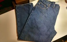 Carhartt Men's Flannel Lined Jeans Relaxed Fit Sz 44/30 #Carhartt #Relaxed
