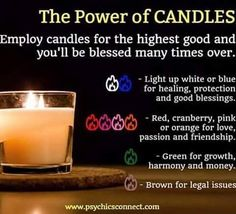 Psychicsconnect UK provides online psychic reading, clairvoyant readings, medium readings online and many more. Wiccan Spells, Candle Spells, Candle Magic, Magick, Magic Spells, Candle Meaning, Witchcraft For Beginners, Herbal Magic, Love Tarot