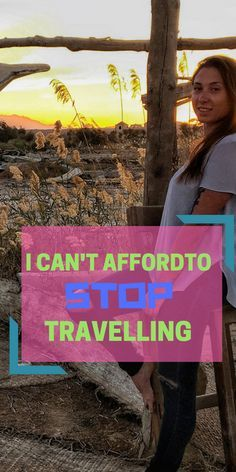 When it comes to the whole process being too expensive to sack your life in and join me? That's all an excuse. Yes, you do need money to do it and to buy the plane ticket, but when you are wherever your desired location is, to stay there and live the life of a traveller: is cheaper than to live at home.