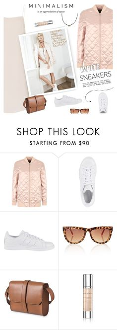"""So Fresh: White Sneakers"" by lacas ❤ liked on Polyvore featuring Vero Moda, Samsøe & Samsøe, adidas Originals, Lenox, Hard Graft, Anne Semonin and whitesneakers"