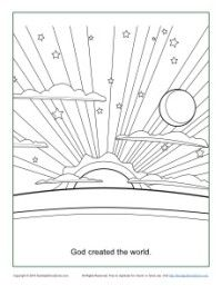 Easy printable pinwheel pattern angelstreetmom pinwheels for Coloring pages god created the world