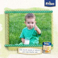 Concentrar todos los milagros nutricionales de la naturaleza en un vaso de leche... ¡Esta es la misión de vida de Friso!