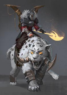 Red Knight - The Beastmaster by JoshCorpuz85