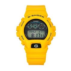 Casio Men's G6900A-9 G-Shock Yellow Shock-Resistant Black Dial Watch Casio. $149.00