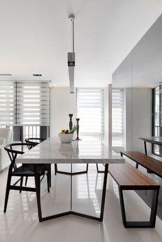 Den Esszimmer Glastisch Mit Dunklen Stühlen Kombinieren | Wohnen ☆ Living |  Pinterest | Moderne Esszimmer, Glastische Und Esszimmer