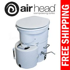 Excel Composting Toilet by Sun-Mar. Most compact unit, for RVs ...