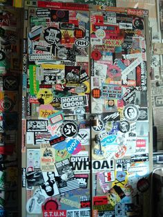 You loved the one sticker-plastered metal cabinet in the station.   26 Signs You Were A College RadioDJ