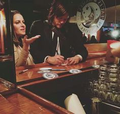 Oh to run into Norman Reedus in a bar.
