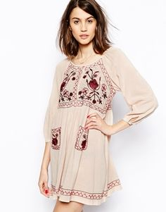 French Connection Fez Garden 3/4 Sleeve Dress