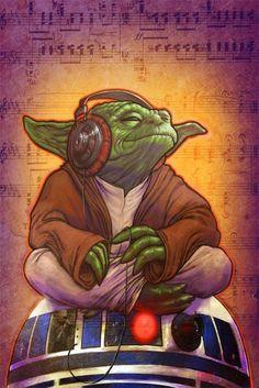 Yoda Curtindo um Som