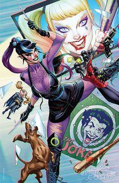 Marvel Dc Comics, Dc Comics Girls, Dc Comics Art, Comic Book Villains, Comic Book Characters, Comic Books Art, Book Art, Batman Comic Art, Joker Art