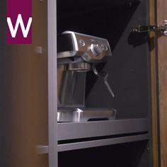 Decorating Above Kitchen Cabinets, Smart Kitchen, Electronic Devices, Modern Kitchen Design, Home Kitchens, New Homes, Kitchen Appliances, Interior, House