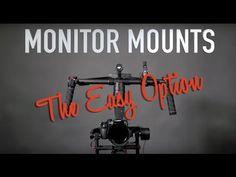 DJI RONIN M MX | The Easiest Monitor Mount Option - YouTube