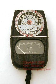 Classic light meter pre-1970s