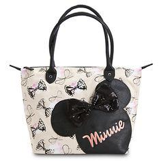 #Disney #Minnie Mouse Canvas Handbag by #Loungefly