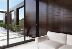 S350 is an approach in sliding systems in full accordance with the modern architectural trends for soft and straight lines and considerably less visible aluminium frame. High levels of thermal insulation combined with a great variety of innovative design solutions, make S350 the ideal solution for building modern residences as well as for frames replacements.