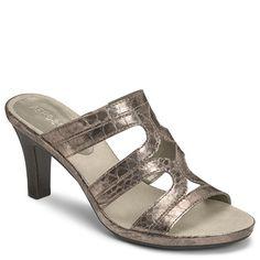 Dorothea Cut Out Slip On Heeled Sandal | Women's Mid Heel Sandals Sandals | Aerosoles