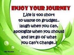enjoy your journey....