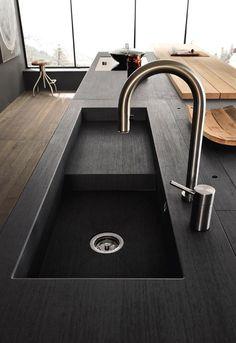 5+ BLACK KITCHENS/ designthepassion http://designthepassion.altervista.org/leleganzadelneroincucina/