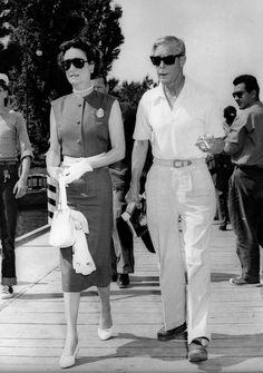 Duke and Duchess of Windsor in Venice. 1956. From voxsartoria
