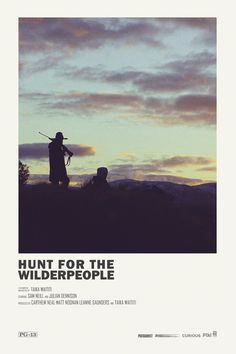 Hunt for the Wilderpeople alternative movie poster