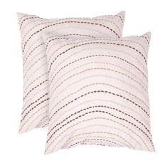 I pinned this Corona Pillow in Flax (Set of 2) from the Jaipur event at Joss and Main!