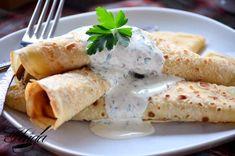 Crepes de endibias y salmón - Las mejores recetas de Huga