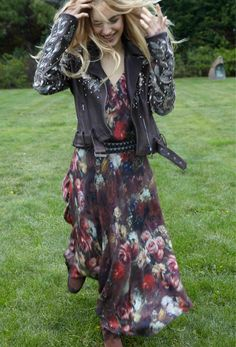love this 2012 Stevie Nicks-but-not  #HauteHippie Fall 2012 Look Book