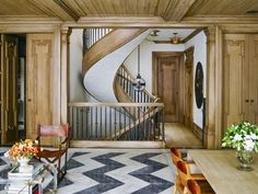 Custom Spiral Staircase Design Detail Contemporary by Ken Fulk Hall Interior, Best Interior, Interior Styling, Interior Design Portfolios, Top Interior Designers, Interior Photography, Staircase Design, My New Room, Decorating Blogs
