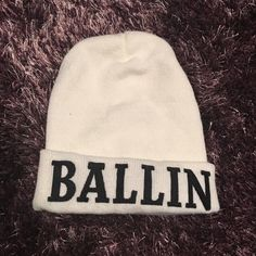 PacSun BALLIN beanie Beanie from pac sun. Never worn! PacSun Accessories Hats