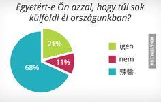 Közvélemény kutatás: sok-e a külföldi az országban?
