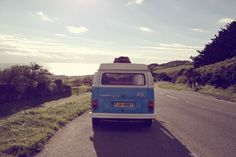 vintage campervan