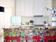 Would you want a LEGO kitchen? See more of this one >>