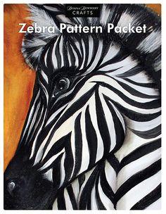 wOil Zebra Pattern Packet  www.dewberrycrafts.com