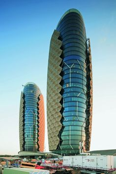 Kinetic Architecture: Designs for Active Envelopes - Abu Dhabi Investment Council Headquarters