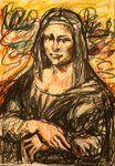 Mona Lisa by ChristinRoussi