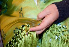 artesanía y seda