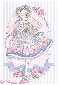 Romantic Rose Letter Angelic Pretty